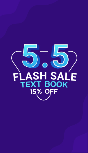 5.5 Flash Sale Text book