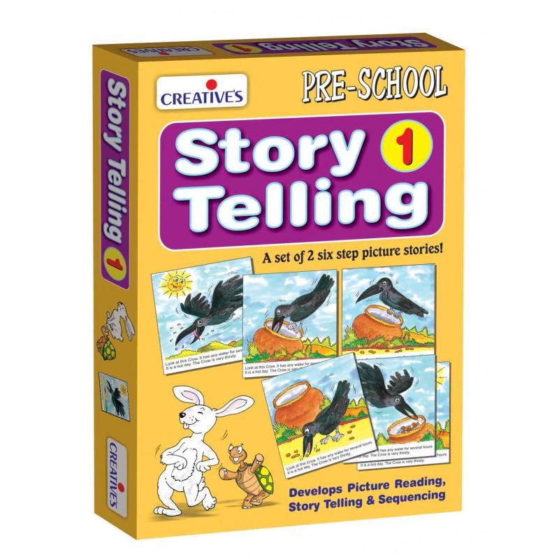 Story Telling Step-by-Step-1 (6 Steps)