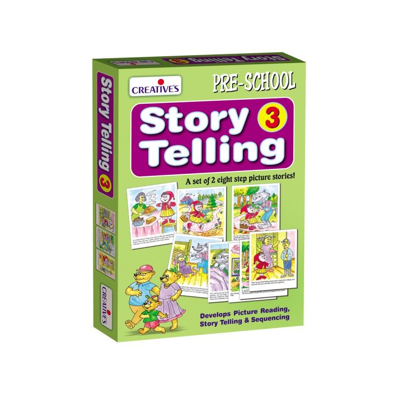 Story Telling Step-by-Step-2 (6 Steps)