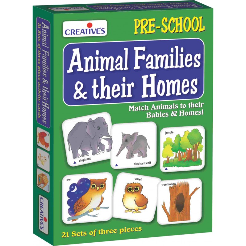Animal Families & Their Homes
