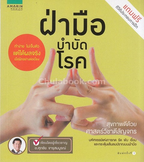 ฝ่ามือบำบัดโรค (1 BK./1 DVD)