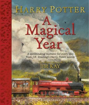 HARRY POTTER: A MAGICAL YEAR (THE ILLUSTRATIONS OF JIM KAY) (HC)