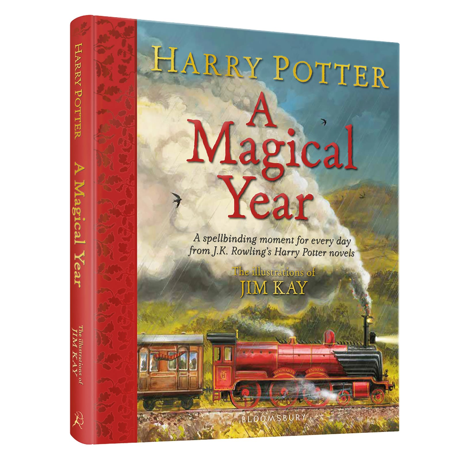 HARRY POTTER: A MAGICAL YEAR (THE ILLUSTRATIONS OF JIM KAY) (HC) (เฉพาะจอง)