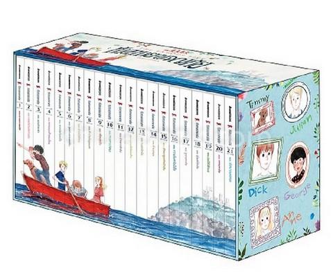 ชุดห้าสหายผจญภัย (THE FAMOUS FIVE) เล่ม 1-21 (บรรจุกล่อง)