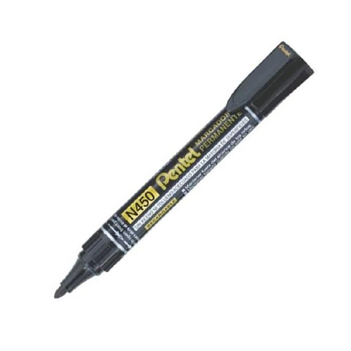 ปากกามาร์คเกอร์ หัวมน สีดำ #N450-A