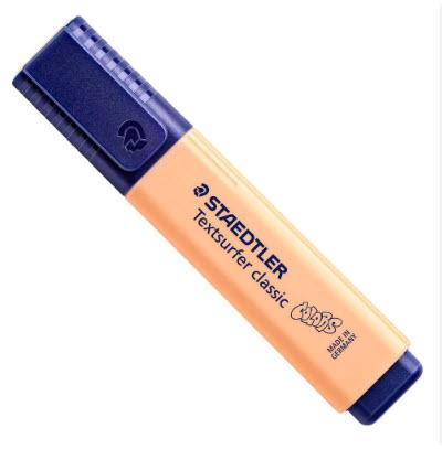 ปากกาสะท้อนแสง สีพีช  #364-C-405