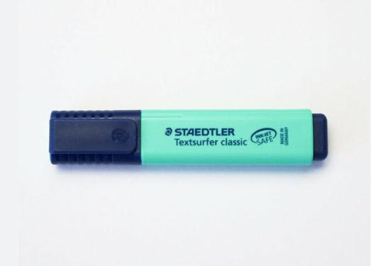ปากกาสะท้อนแสง สีเขียวมินท์  #364-C-505