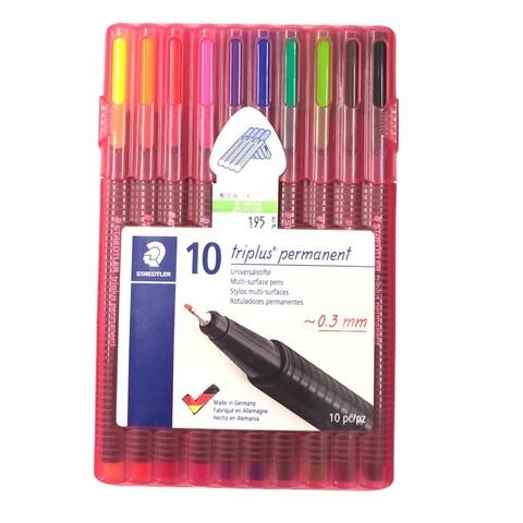 ชุดปากกาไตรพลัส ชนิดถาวร 10 สี #331-SB10