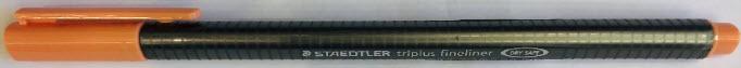 ปากกาไตรพลัสไฟน์ไลนเนอร์ สีแดงนีออน #334-222