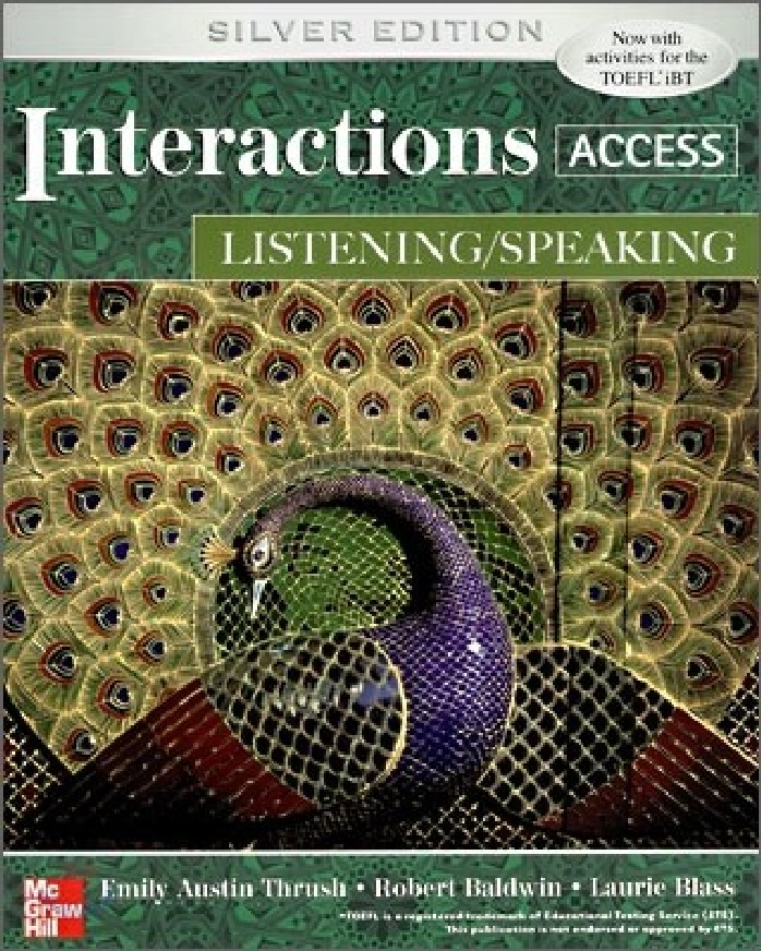 INTERACTIONS ACCESS: LISTENING/SPEAKING (1 BK./1 CD-ROM)