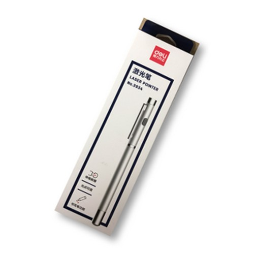 ปากกาเลเซอร์ (สีเงิน) No.3934
