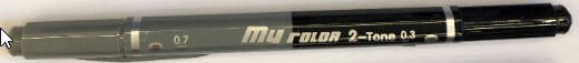 ปากกา My Color 2-Tone #MC3-49/33