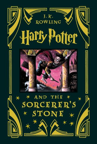 HARRY POTTER AND THE SORCERER'S STONE (BOOK 1): COLLECTOR'S EDITION (HC)