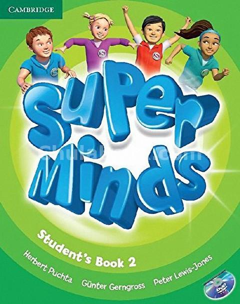 SUPER MINDS 2: STUDENT'S BOOK (1 BK./1 DVD)