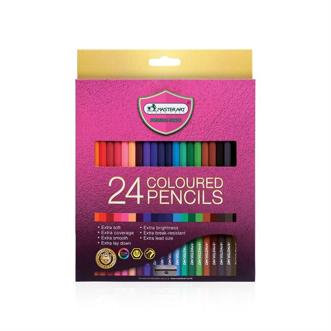 ดินสอสี มาสเตอร์อาร์ต 24 สี เอส-ซีรีส์