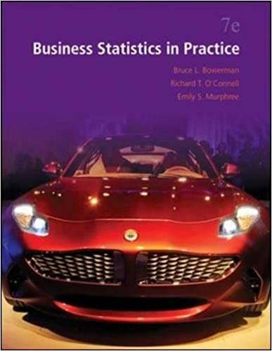 BUSINESS STATISTICS IN PRACTICE (IE) **