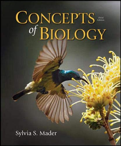 CONCEPTS OF BIOLOGY (IE)