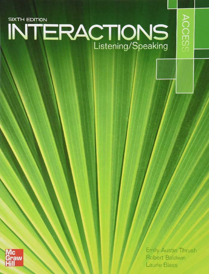 INTERACTIONS ACCESS: LISTENING/SPEAKING (STUDENT BOOK WITH AUDIO CD) (1 BK./1 CD-ROM)