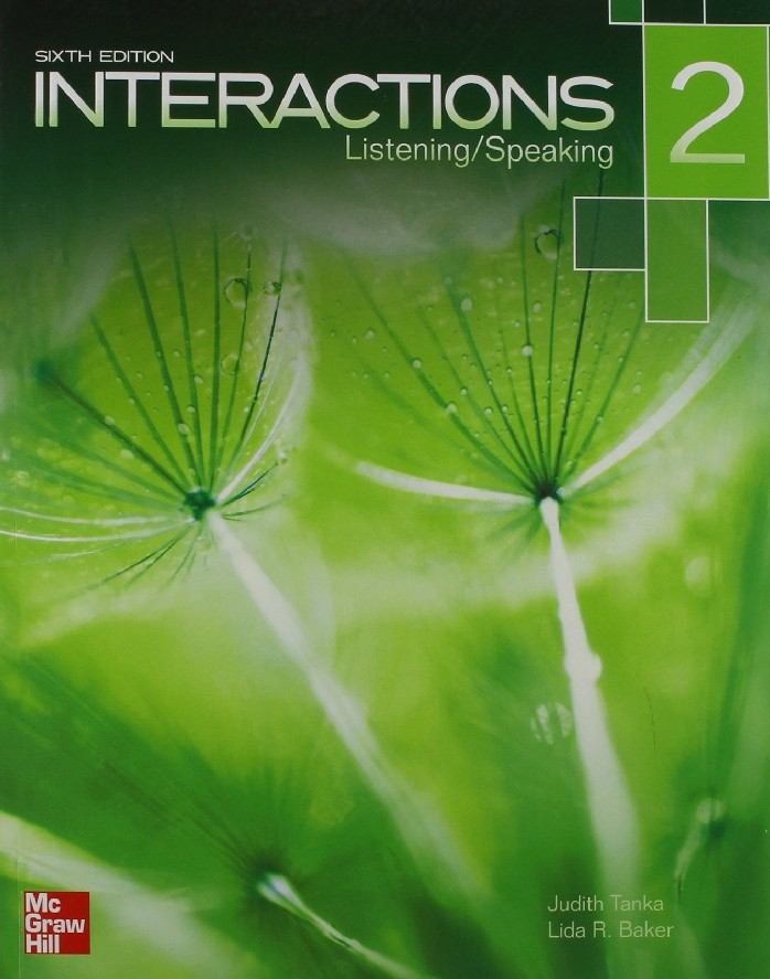 INTERACTIONS 2: LISTENING/SPEAKING (STUDENT BOOK WITH AUDIO CD) (1 BK./1 CD-ROM)