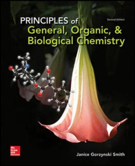 PRINCIPLES OF GENERAL, ORGANIC AND BIOCHEMISTRY