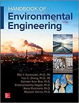 HANDBOOK OF ENVIRONMENTAL ENGINEERING (HC)