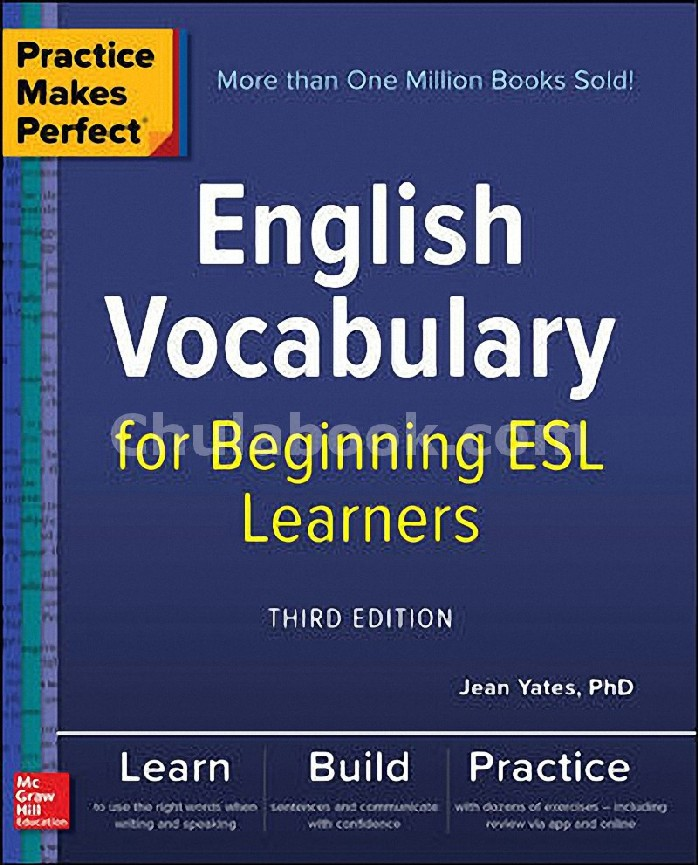 PRACTICE MAKES PERFECT: ENGLISH VOCABULARY FOR BEGINNING ESL LEARNERS (HC)