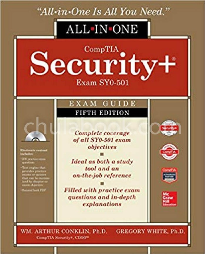 COMPTIA SECURITY+ ALL-IN-ONE EXAM GUIDE, FIFTH EDITION (EXAM SY0-501) (1 BK./1 CD-ROM) (HC)