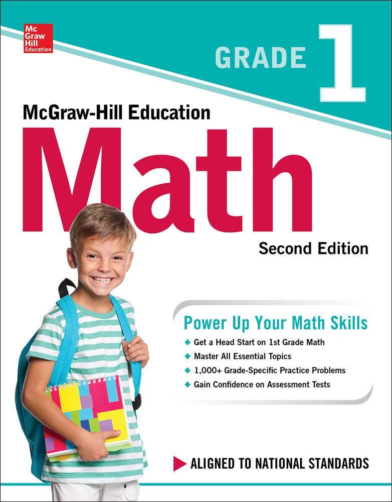 MCGRAW-HILL EDUCATION MATH GRADE 1