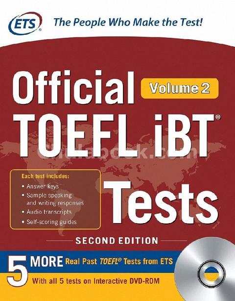 OFFICIAL TOEFL IBT TESTS VOLUME 2 (1 BK./1 DVD)