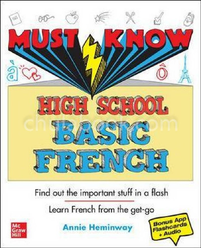 MUST KNOW HIGH SCHOOL BASIC FRENCH