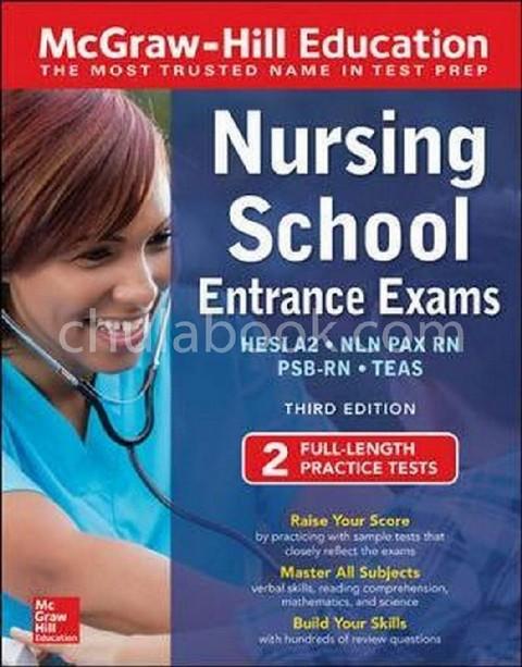 MCGRAW-HILL EDUCATION NURSING SCHOOL ENTRANCE EXAMS