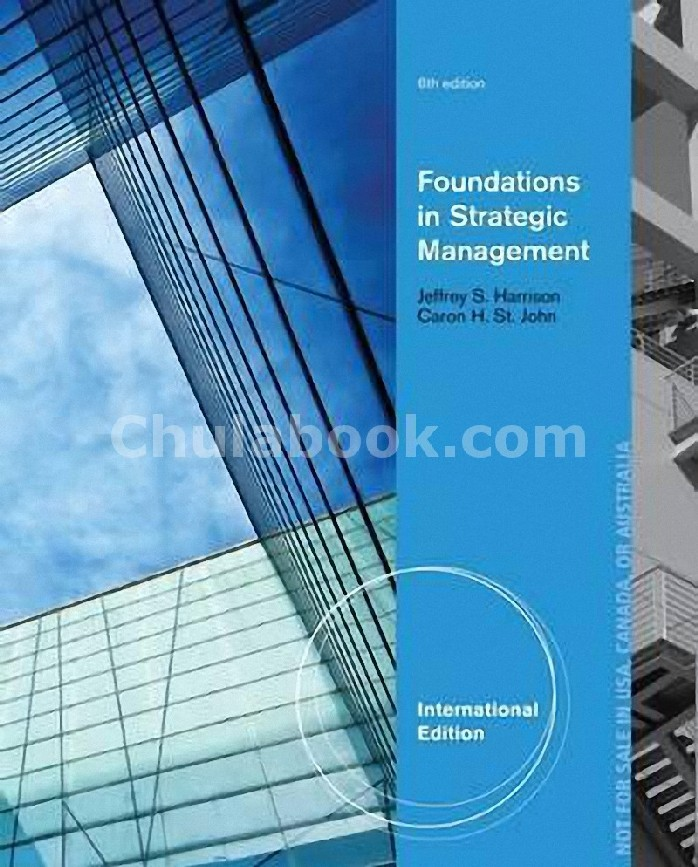 FOUNDATIONS IN STRATEGIC MANAGEMENT (ISE)