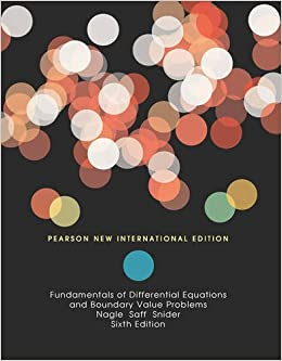 FUNDAMENTALS OF DIFFERENTIAL EQUATIONS AND BOUNDARY VALUE PROBLEMS (PNIE)