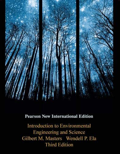 INTRODUCTION TO ENVIRONMENTAL ENGINEERING AND SCIENCE (PNIE)