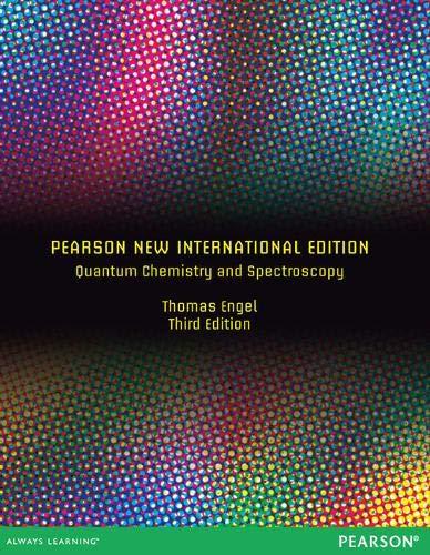 QUANTUM CHEMISTRY AND SPECTROSCOPY (PNIE)