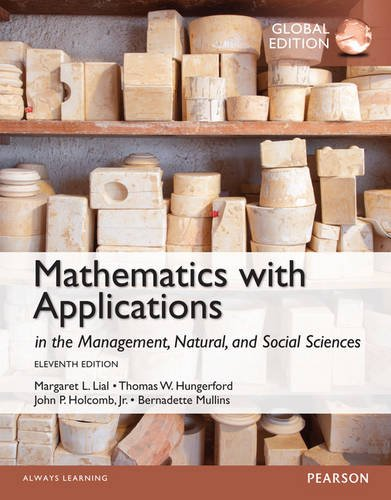 MATHEMATICS WITH APPLICATIONS (GLOBAL EDITION)