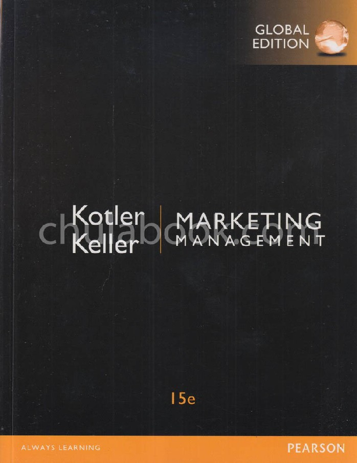 MARKETING MANAGEMENT (GLOBAL EDITION)