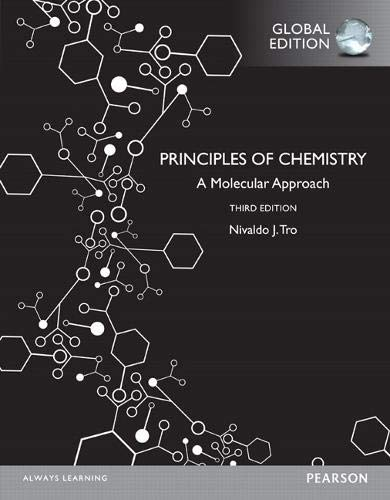 PRINCIPLES OF CHEMISTRY (GLOBAL EDITION)