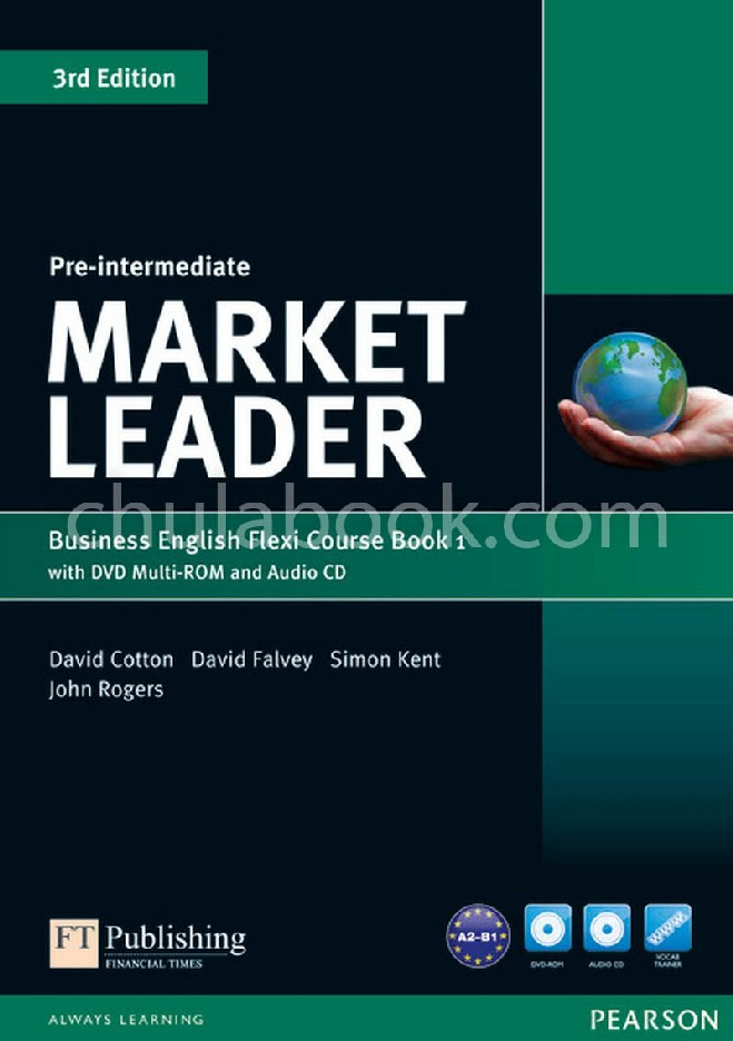 MARKET LEADER: BUSINESS ENGLISH FLEXI COURSE BOOK 1 (PRE-INTERMEDIATE) (1 BK./1 CD-ROM/1 DVD)