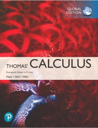 THOMAS' CALCULUS IN SI UNITS (GLOBAL EDITION)