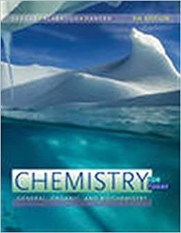 CHEMISTRY FOR TODAY: GENERAL, ORGANIC, AND BIOCHEMISTRY (HC)