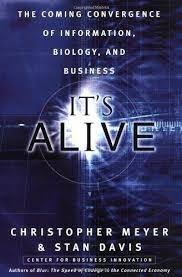 IT'S ALIVE: THE COMING CONVERGENCE OF INFORMATION, BIOLOGY, AND BUSINESS (HC)