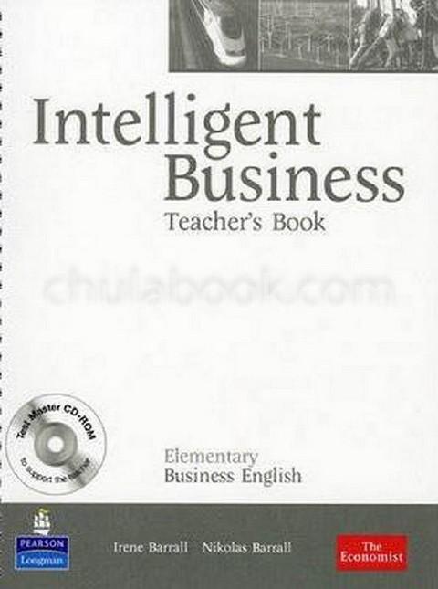 INTELLIGENT BUSINESS: ELEMENTARY BUSINESS ENGLISH (TEACHER'S BOOK) (1 BK./1 CD-ROM)