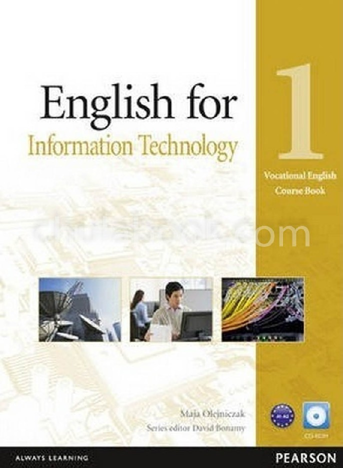 ENGLISH FOR INFORMATION TECHNOLOGY 1: COURSE BOOK (VOCATIONAL ENGLISH) (1 BK./1 CD-ROM)