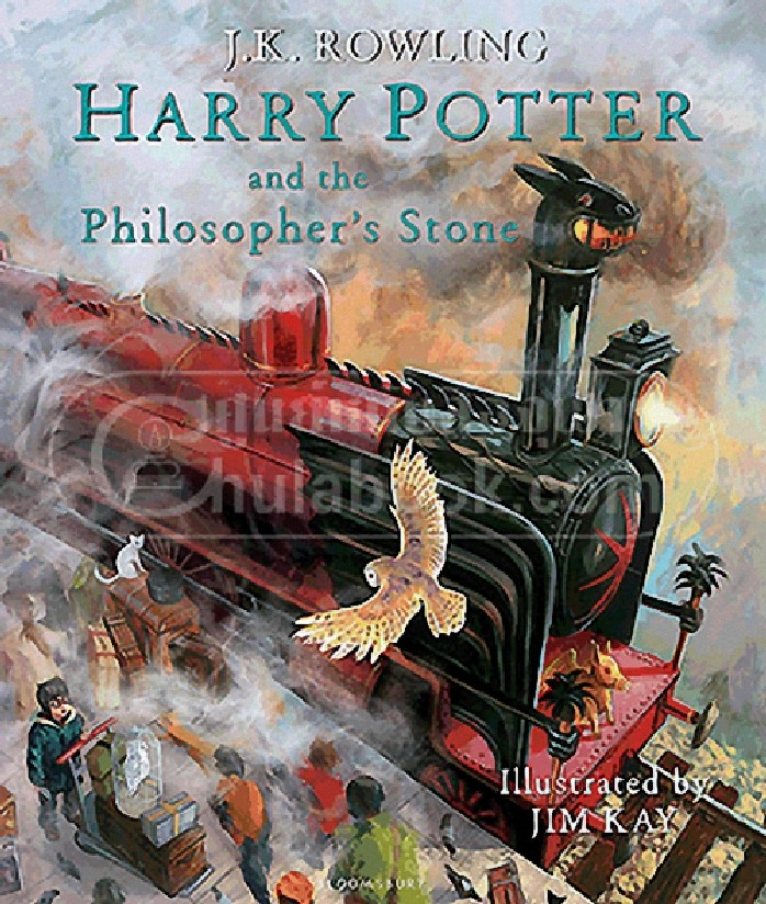 HARRY POTTER AND THE PHILOSOPHER'S STONE (ILLUSTRATED EDITION) (HC)