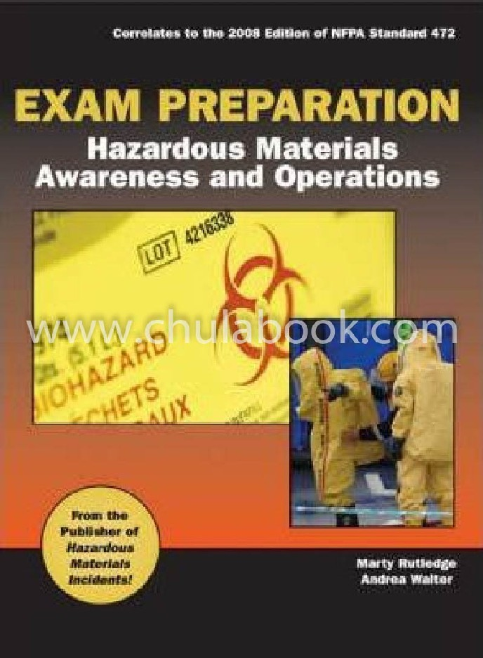 EXAM PREPARATION FOR HAZARDOUS MATERIALS AWARENESS AND OPERATIONS (1 BK./1 CD-ROM)