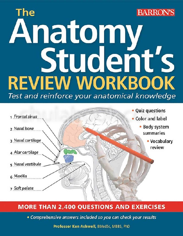 THE ANATOMY STUDENT'S REVIEW WORKBOOK: TEST AND REINFORCE YOUR ANATOMICAL KNOWLEDGE