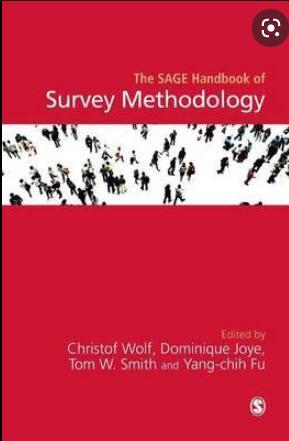 THE SAGE HANDBOOK OF SURVEY METHODOLOGY (HC)