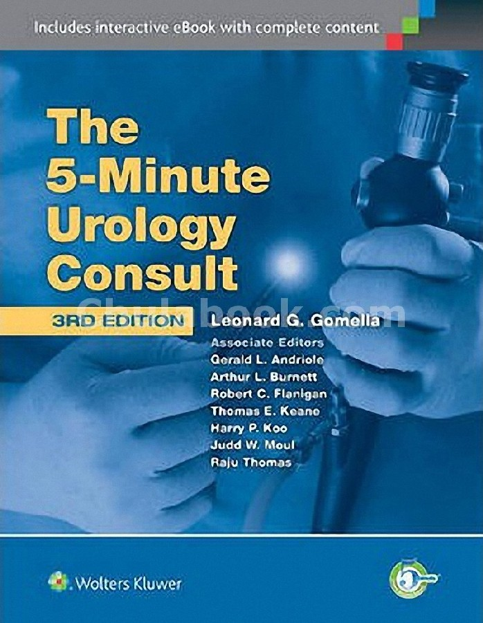 THE 5 MINUTE UROLOGY CONSULT (THE 5-MINUTE CONSULT SERIES)