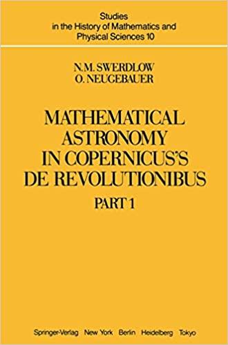 MATHEMATICAL ASTRONOMY IN COPERNICUS'S DE REVOLUTIONIBUS: PART 1
